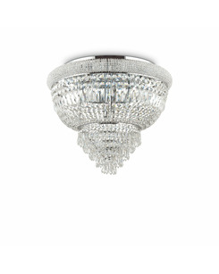 Люстра припотолочная Ideal Lux Dubai pl6 cromo 207186