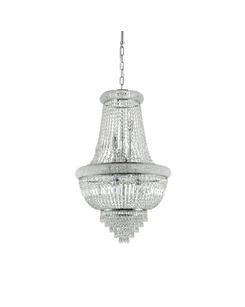 Люстра подвесная Ideal Lux Dubai sp10 cromo 215969