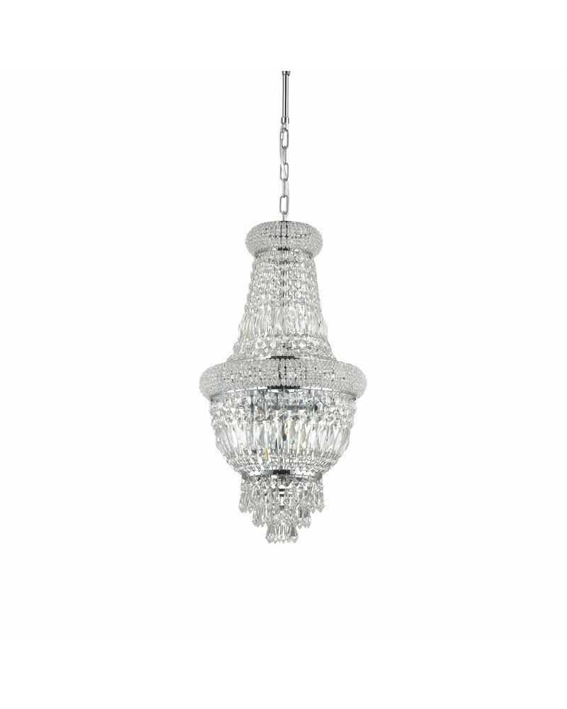 Люстра подвесная Ideal Lux Dubai sp5 cromo 207193