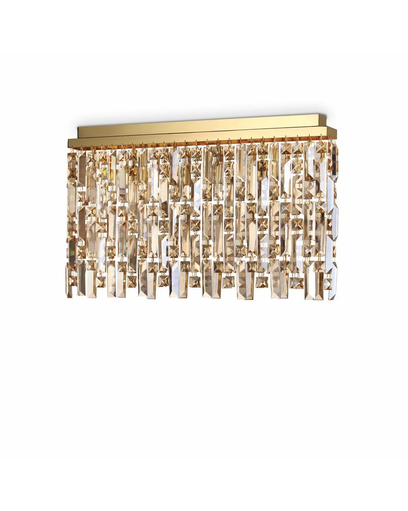 Потолочный светильник Ideal Lux Elisir pl6 ottone 200095