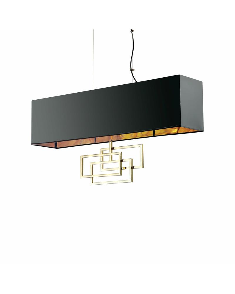 Подвесной светильник Ideal Lux Luxury sp6 ottone 219738