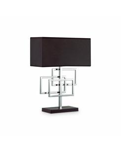 Настольная лампа Ideal Lux Luxury tl1 cromo 201078
