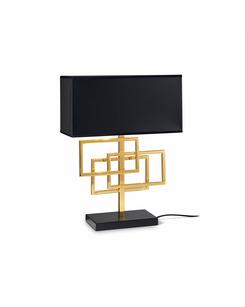 Настольная лампа Ideal Lux Luxury tl1 ottone 201115