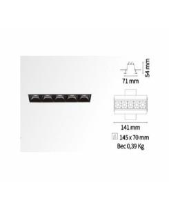 Подробнее о Точечный светильник Ideal Lux Lika trimless 206226