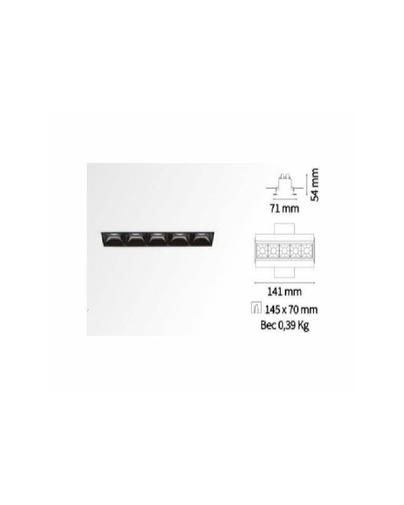 Точечный светильник Ideal Lux Lika trimless 206226