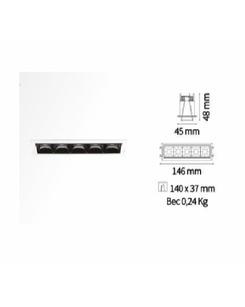 Точечный светильник Ideal Lux Lika trim 206219