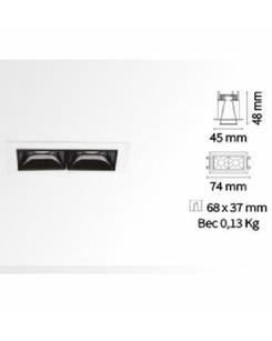 Точечный светильник Ideal Lux Lika trim 206196