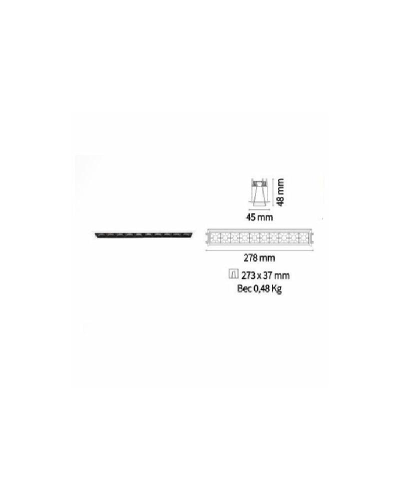 Точечный светильник Ideal Lux Lika trim 206233