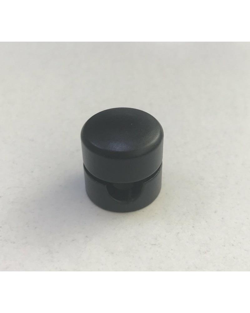 Потолочный крепеж для кабеля Retro Bulb черный