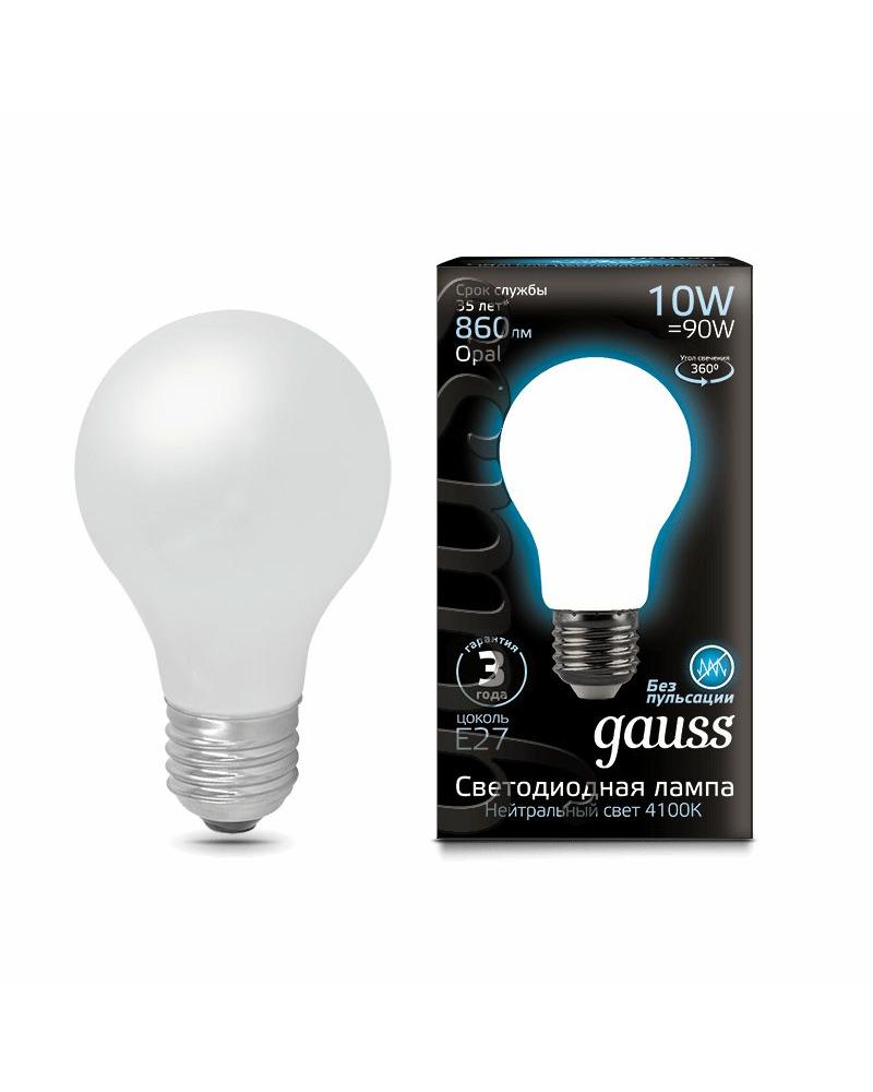 Лампочка Gauss 102202210 A60 E27 10 Вт 4100K