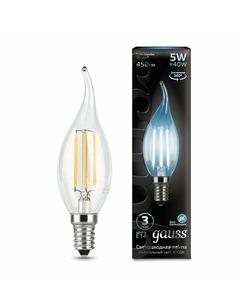 Лампочка Gauss 104801205 C37 E14 5 Вт 4100K