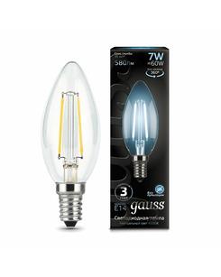 Лампочка Gauss 103801207 C37 E14 7 Вт 4100K