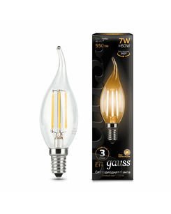 Лампочка Gauss 104801107 C37 E14 7 Вт 2700K