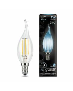 Лампочка Gauss 104801207 C37 E14 7 Вт 4100K