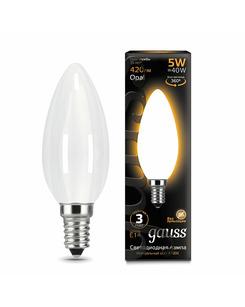 Лампочка Gauss 103201105 C37 E14 5 Вт 2700K
