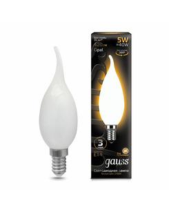 Лампочка Gauss 104201105 C37 E14 5 Вт 2700K