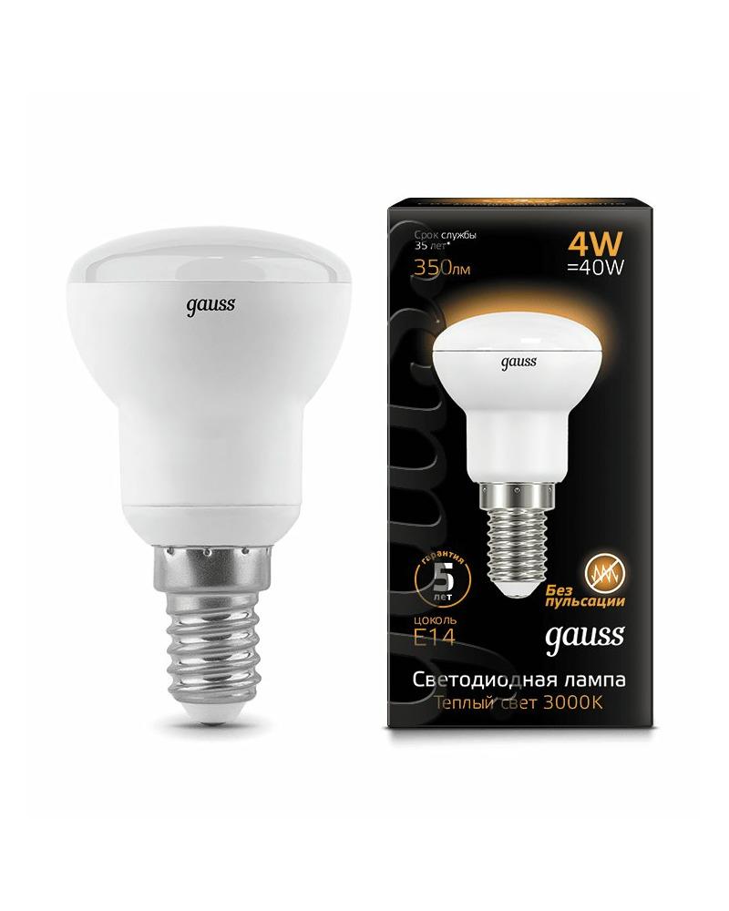 Лампочка Gauss 106001104 R39 E14 4 Вт 3000K