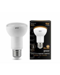 Лампочка Gauss 106002109 R63 E27 9 Вт 3000K