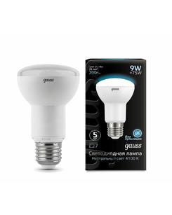 Лампочка Gauss 106002209 R63 E27 9 Вт 4100K