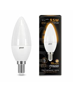 Лампочка Gauss 103101110 C37 E14 9.5 Вт 3000K