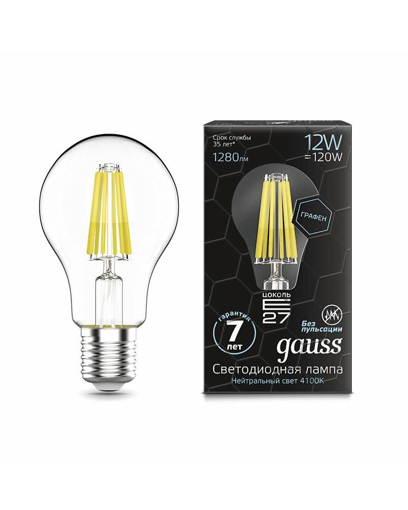 Лампочка Gauss 102802212 A60 E27 12 Вт 4100K