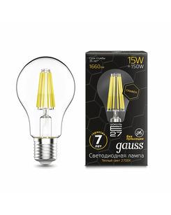 Лампочка Gauss 102802115 A60 E27 15 Вт 2700K