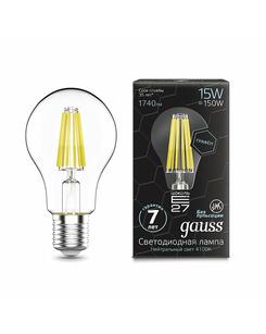 Лампочка Gauss 102802215 A60 E27 15 Вт 4100K