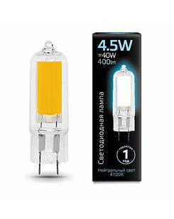 Лампочка Gauss 107807204 Капсульная G4 4.5 Вт 4100K