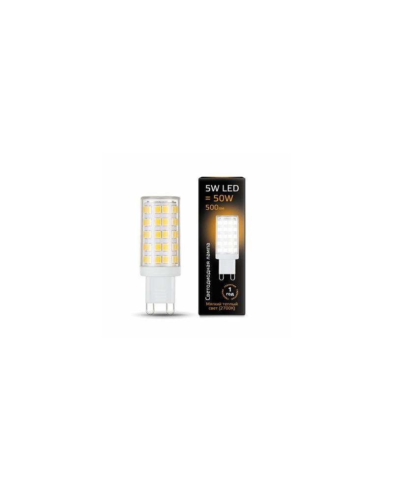 Лампочка Gauss 107309105 Капсульная G9 5 Вт 2700K