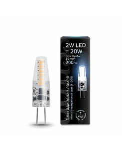 Лампочка Gauss 107707202 Капсульная G4 2 Вт 4100K