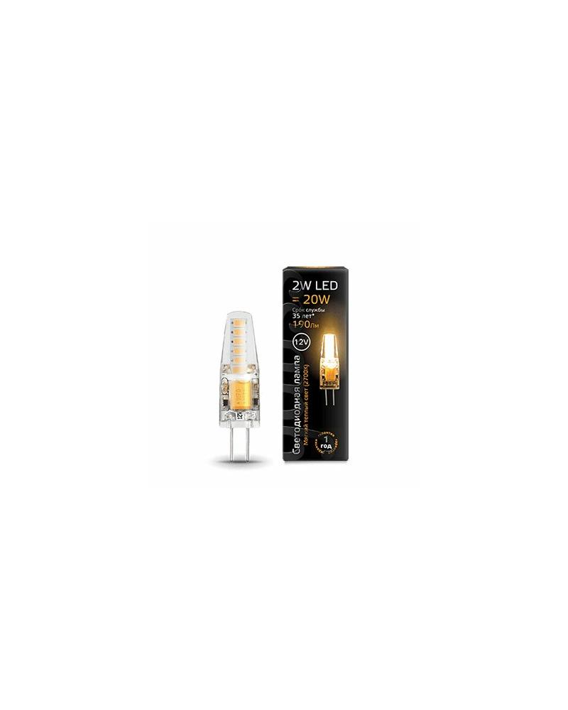 Лампочка Gauss 207707102 Капсульная G4 2 Вт 2700K