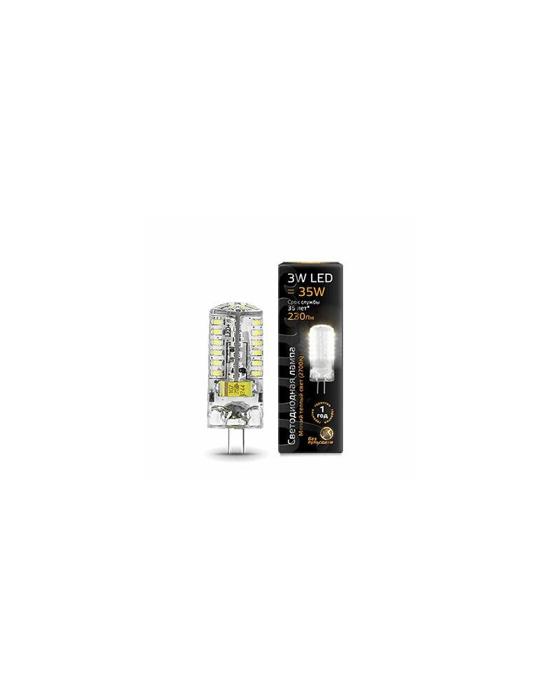 Лампочка Gauss 107707103 Капсульная G4 3 Вт 2700K