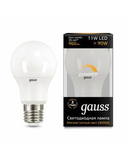 Лампочка Gauss 102502111-D A60 E27 11 Вт 3000K