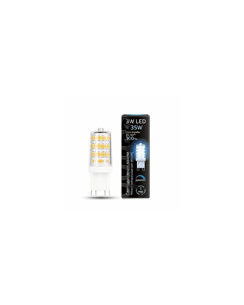 Лампочка Gauss 107309203 Капсульная G9 3 Вт 4100K