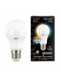 Лампочка Gauss 102502110-T A60 E27 10 Вт 2700K/4100K