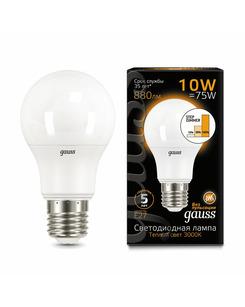 Лампочка Gauss 102502110-S A60 E27 10 Вт 3000K