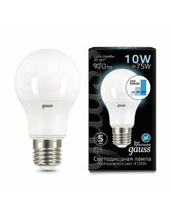 Лампочка Gauss 102502210-S A60 E27 10 Вт 4100K