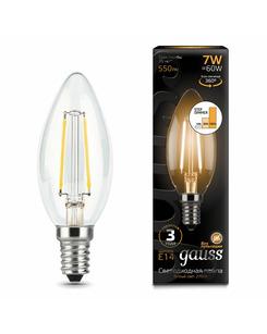 Лампочка Gauss 103801107-S C37 E14 7 Вт 2700K