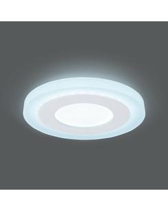 Светодиодный светильник Gauss BL115 3+3 Вт 4000K