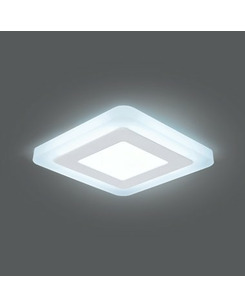 Подробнее о Светодиодный светильник Gauss BL121 3+3 Вт 4000K