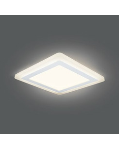 Подробнее о Светодиодный светильник Gauss BL124 12+4 Вт 3000K