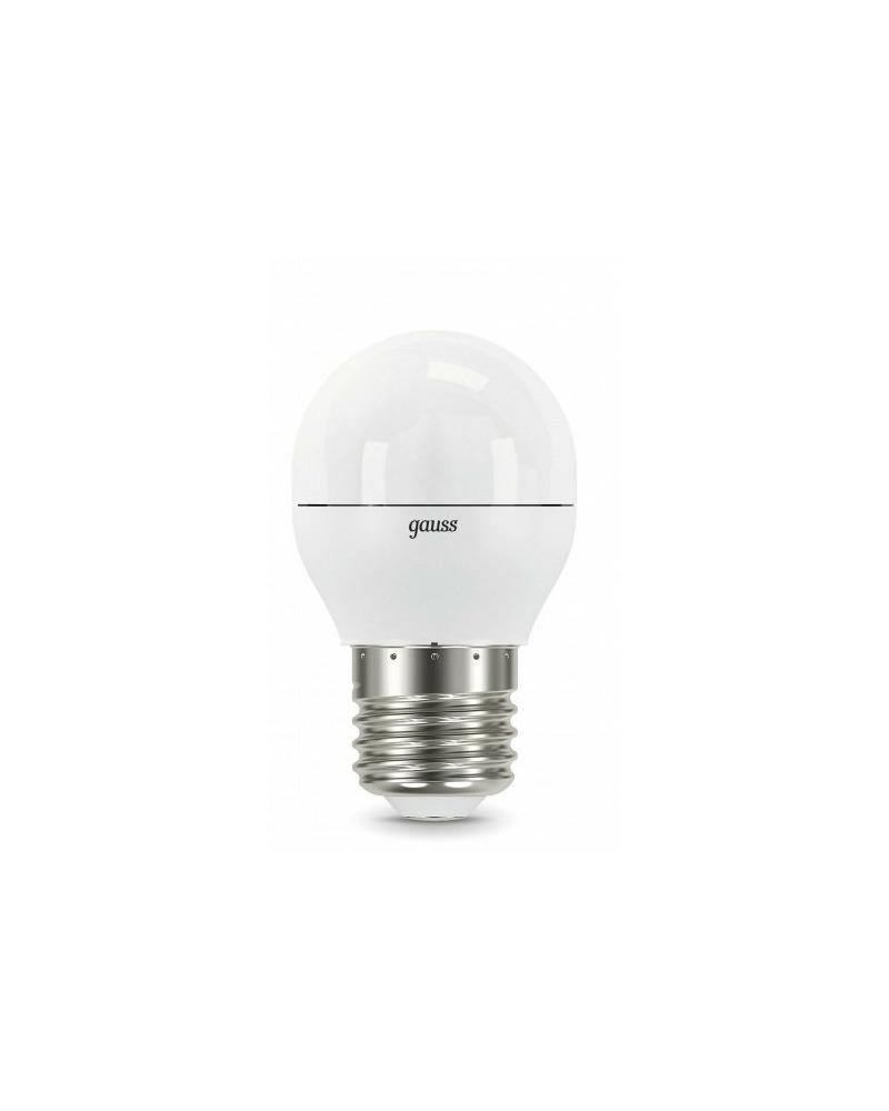 Лампочка Gauss 105102207-S P45 E27 7 Вт 4100K