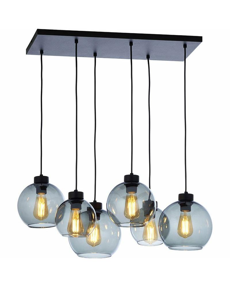 Подвесной светильник TK Lighting 2833 Cubus graphite