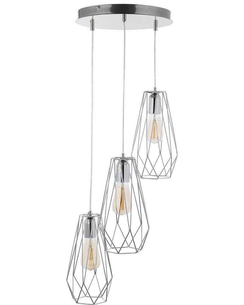 Подвесной светильник TK Lighting 2846 Lugo chrom