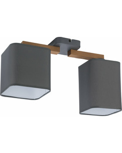 Люстра TK Lighting 4165 Tora grey
