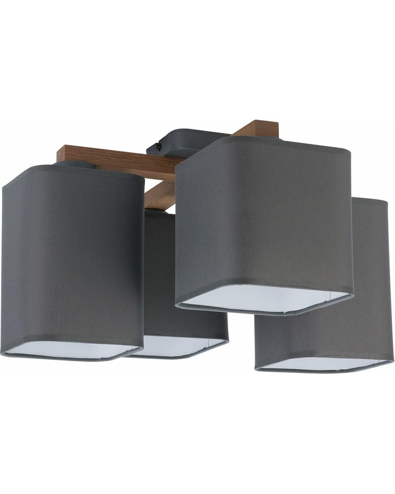Люстра TK Lighting 4166 Tora grey