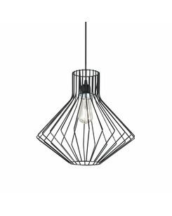 Подвесной светильник Ideal Lux Ampolla-4 sp1 nero 167497