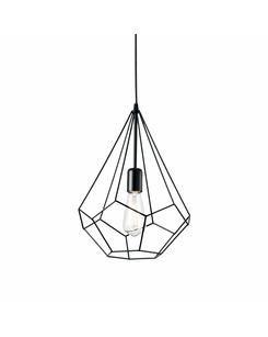 Подвесной светильник Ideal Lux Ampolla-3 sp1 nero 148175