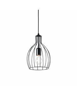 Подвесной светильник Ideal Lux Ampolla-2 sp1 nero 148151