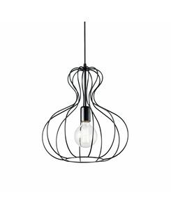 Подвесной светильник Ideal Lux Ampolla-1 sp1 nero 148502